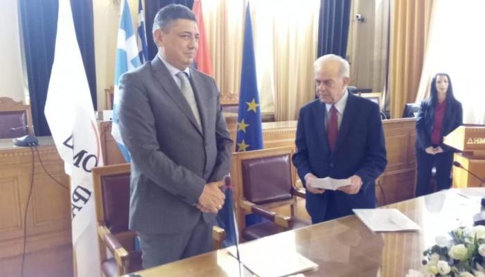 Πραγματοποιήθηκε η τελετή αδελφοποίησης Ηρακλείου - Βελιγραδίου (φωτο)