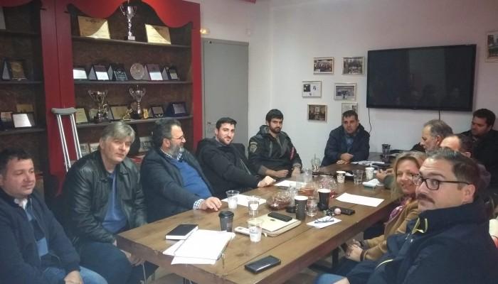Συνάντηση φορέων του τουρισμού στον Πλατανιά με επίκεντρο την κατολίσθηση στον ΒΟΑΚ