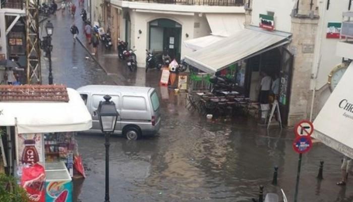 Κατέρρευσε η γέφυρα του Σταυρωμένου στο Ρέθυμνο - Εκκενώθηκαν σπίτια