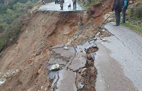 Χωρίς νερό η Κίσσαμος - Έχουν αποκλειστεί χωριά, γεφύρια κατέρρευσαν
