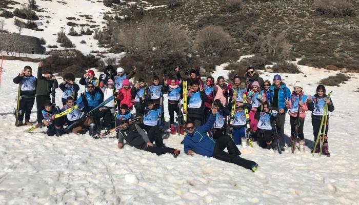 Άρχισαν τα μαθήματα ορειβατικού σκι από την Περιφέρεια Κρήτης για μαθητές