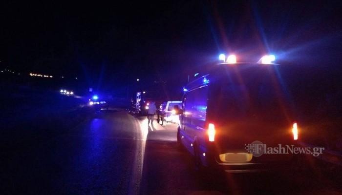 Τραγικό τροχαίο στην Κρήτη - Ένας 20χρονος νεκρός τρεις τραυματίες