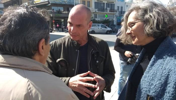 Βαρουφάκης από Χανιά: Βρισκόμαστε σε καθεστώς χρεοδουλοπαροικίας (βίντεο)