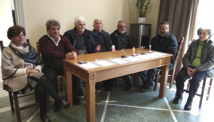 Εκδήλωση τιμής για τους συνταξιοδοτηθέντες υπαλλήλους του Δήμου Χανίων