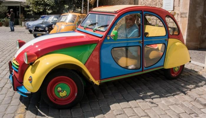 Εκδήλωση για την αναπαλαίωση παλαιών αυτοκινήτων