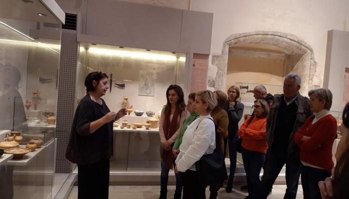 Επίσκεψη εκπαιδευομένων του Κ.Ε.ΚΑ.Π.Ε.Ρ. στο Αρχαιολογικό Μουσείο Ρεθύμνου