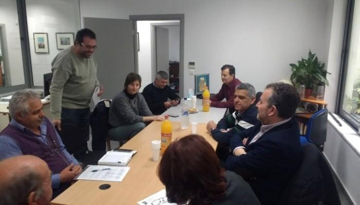 Ο Γρηγόρης Αρχοντάκης επισκέφθηκε τη Διεύθυνση περιβάλλοντος του δήμου Χανίων