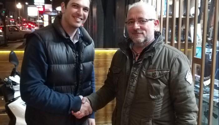 Ο Θοδωρής Ασούτης υποψήφιος με τον Αλέξανδρο Μαρκογιαννάκη