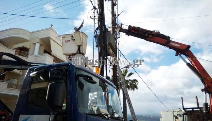 Διακοπή ρεύματος στα Χανιά