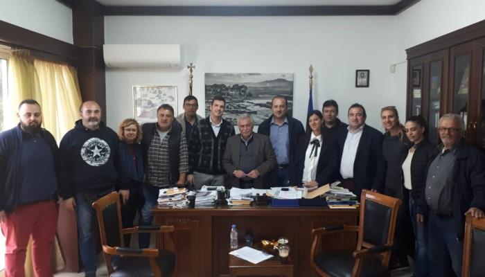 Συνάντηση Μαρκογιαννάκη - Αρμουτάκη για τα προβλήματα στην Μεσσαρά