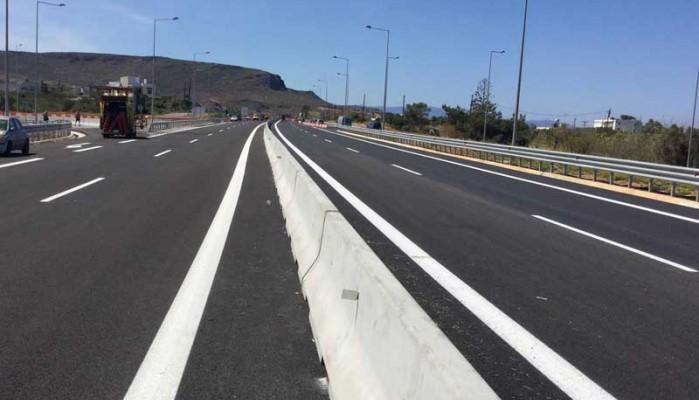 Χρ.Σπίρτζης: Μέχρι 25 Απριλίου θα έχει ολοκληρωθεί ο δρόμος Ηράκλειο - Μεσαρά