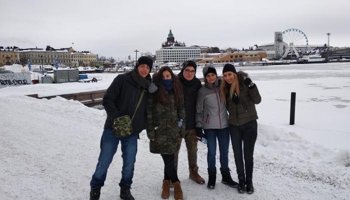 Επίσκεψη του 4ου Γυμνασίου Χανίων στη παγωμένη Φινλανδία