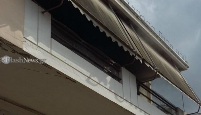 Πυρκαγιά σε σπίτι στα Χανιά μετά το μπλακ άουτ στην Κρήτη(φωτο)