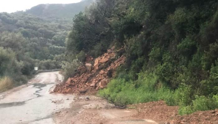 Κλείνουν δρόμοι στον δήμο Πλατανιά λόγω καιρού