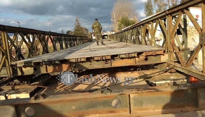 Πάνω στη νέα γέφυρα του Πλατανιά - Πότε αναμένεται να δοθεί στην κυκλοφορία(βίντεο+φωτο)