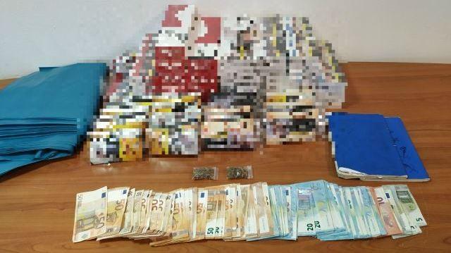 Έφοδος σε σπίτι 28χρονου στο Ηράκλειο αποκάλυψε λαθραία και χασίς (φωτο)