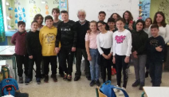 Εκδήλωση με τον Β. Κακατσάκη στο 8ο Δημοτικό Σχολείο Χανίων