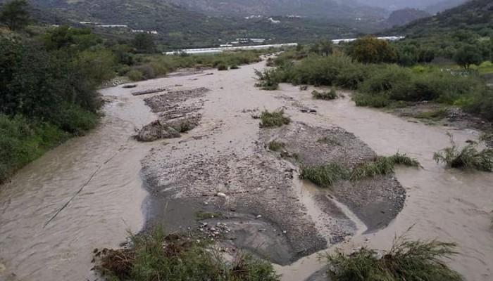 Προβλήματα και κλειστοί δρόμοι στο Δήμο Ιεράπετρας