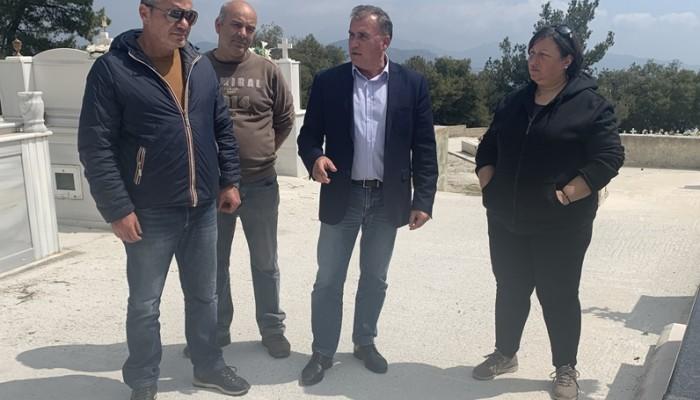 Ολοκληρώθηκαν οι εργασίες στο κοιμητήριο της Καλαμαύκας