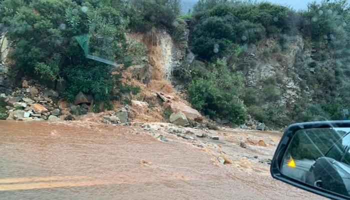 Συνεχίζονται κατολισθήσεις και καθιζήσεις οδοστρώματος στο Ρέθυμνο - Τα επικίνδυνα σημεία