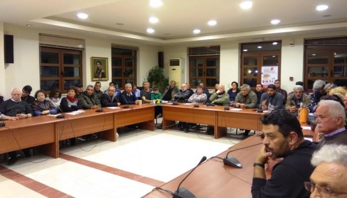 Αυτοί είναι οι 40 υποψήφιοι της «Λαϊκής Συσπείρωσης» στον Δήμο Αποκορώνου (φωτο)