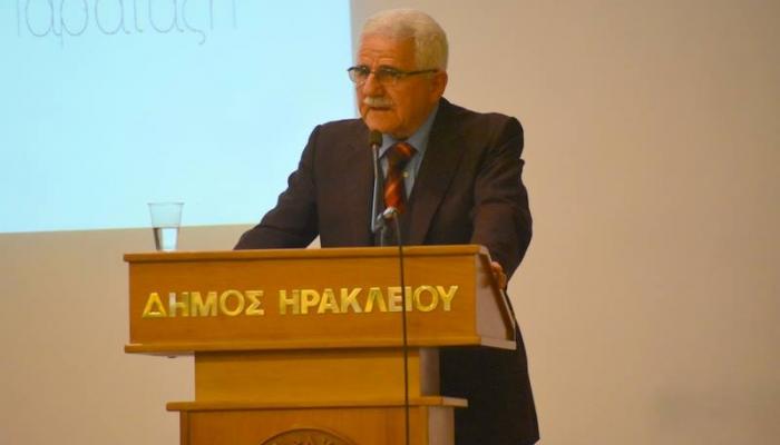 Ηράκλεια Πρωτοβουλία: Η παρουσίαση του υποψήφιου Δημάρχου Ηρακλείου Μανόλη Βασιλάκη