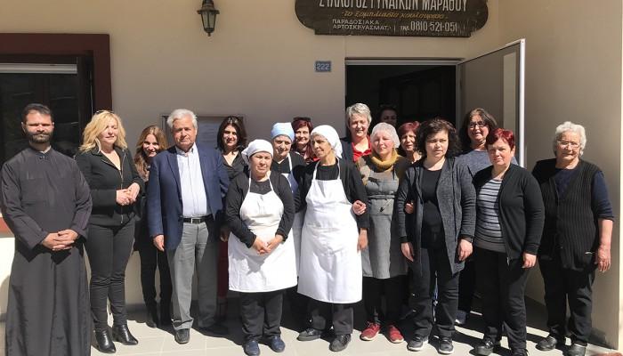 Στους γυναικείους συνεταιρισμούς ο Δήμαρχος Κώστας Μαμουλάκης