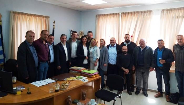 Επίσκεψη Αλέξανδρου Μαρκογιαννάκη στον Δήμο Γόρτυνας