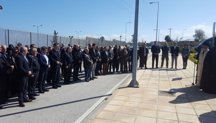 Επιμνημόσυνη δέηση στο Ηράκλειο υπέρ των πεσόντων αστυνομικών (φωτο)