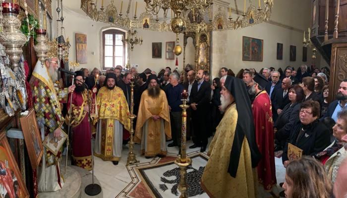 Η Κυριακή της Ορθοδοξίας στην Πατριαρχική Μονή Γωνιάς (φωτο)