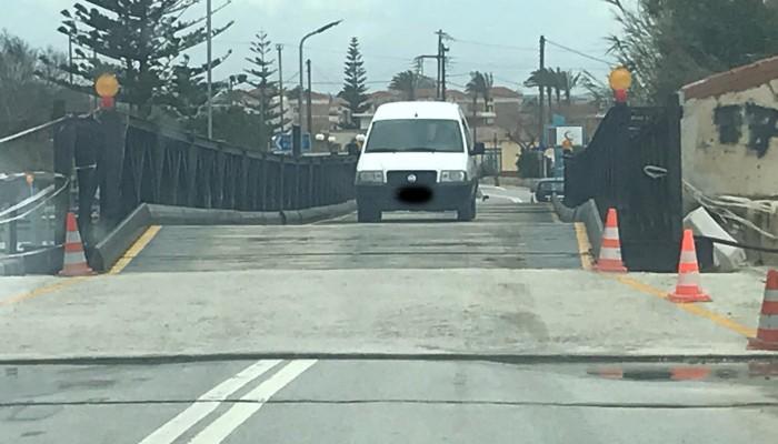 Δόθηκε και πάλι στην κυκλοφορία η γέφυρα του Πλατανιά