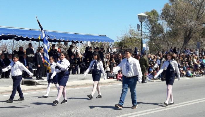 Με λαμπρότητα εορτάστηκε η εθνική επέτειος και στο Ηράκλειο