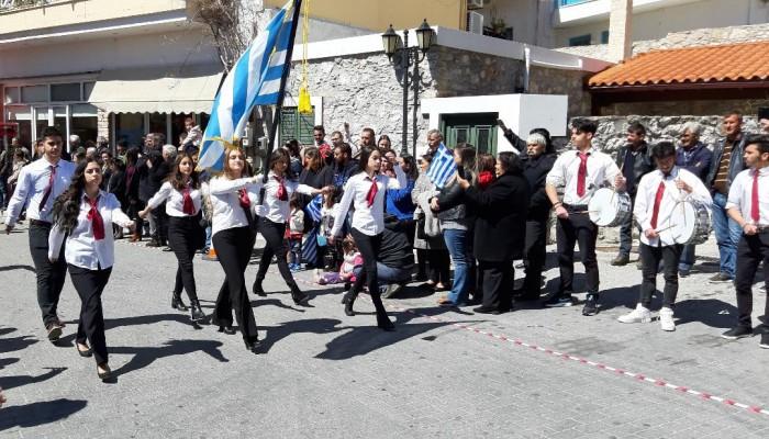 Ο εορτασμός της 25ης Μαρτίου στον Δήμο Βιάννου