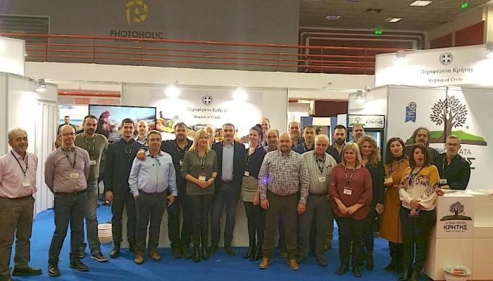 Επιτυχημένη η συμμετοχή της Περιφέρειας Κρήτης στη Διεθνή Έκθεση τροφίμων