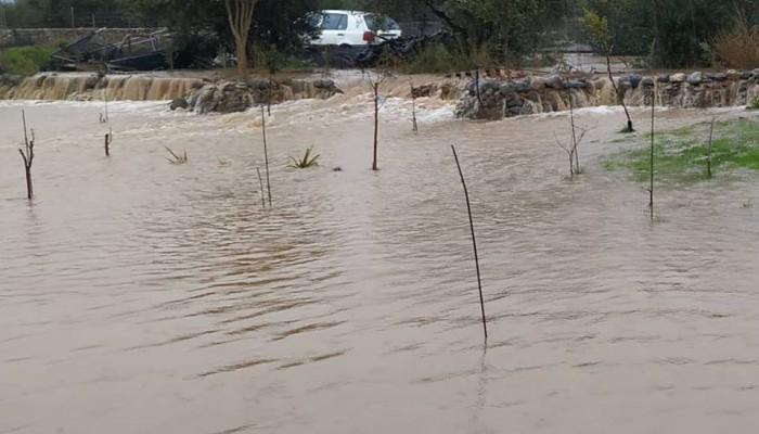 Φούσκωσε το ποτάμι στο Φραγκοκάστελο - Καταγγέλλουν ότι δεν έχει καθαριστεί χρόνια