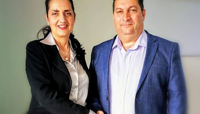 Η Λεμονιά Σφακιανάκη υποψήφια με τον Γιάννη Μαστοράκη