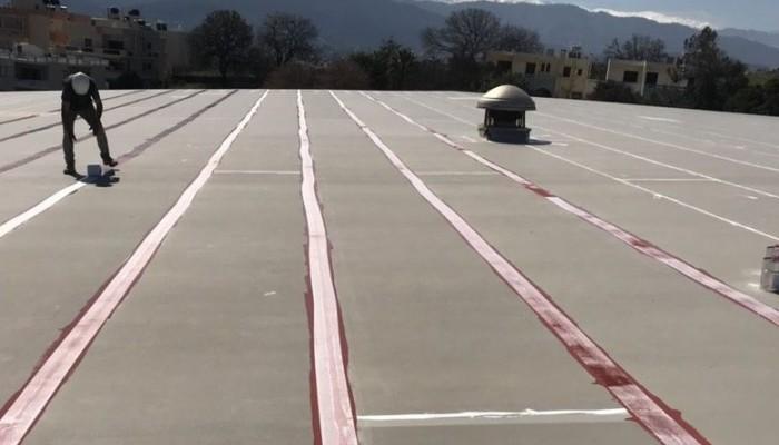 Εργασίες μονώσεων στα Κλειστά Γυμναστήρια του Δήμου Χανίων (φωτο)