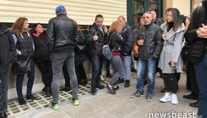 Από «κρυφή» είσοδο μπήκαν στη δουλειά τους οι εργαζόμενοι του υπουργείου Εργασίας