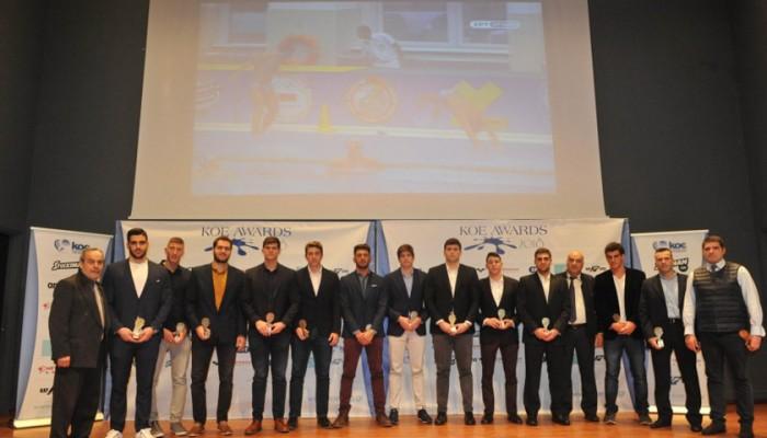 Τιμή από την ΚΟΕ σε αθλητές και προπονητές του ΝΟΧ