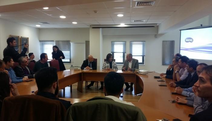 Τα μελανά σημεία του ν/σ για τα πανεπιστήμια τέθηκαν σε συνάντηση στο Πολυτεχνείο Κρήτης