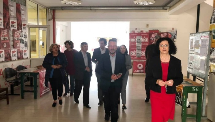 Σε εκπαιδευτικά ιδρύματα των Χανίων ο υποψήφιος δήμαρχος Χανίων Γρ.Αρχοντάκης