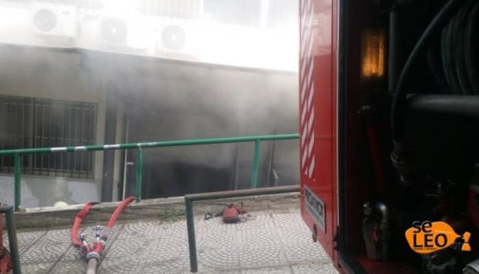 Αναστάτωση στο ΑΠΘ - Φωτιά σε υπόγειο