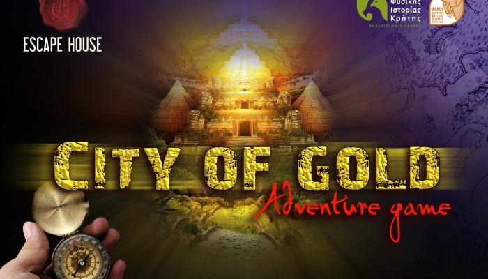 A city of Gold στο Μουσείο Φυσικής Ιστορίας Κρήτης