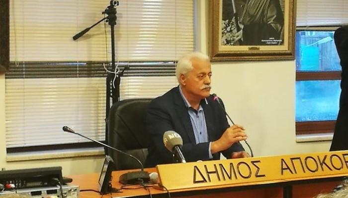 Και επίσημα υποψήφιος δήμαρχος Αποκόρωνα ο Χαράλαμπος Κουκιανάκης