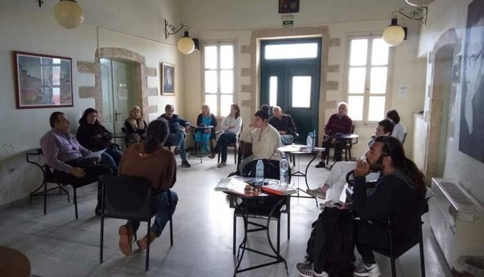 Επίσκεψη στους εργαζομένους της ΔΕΗ και στο δημοτικό γηροκομείο από την Ανταρσία στα Χανιά