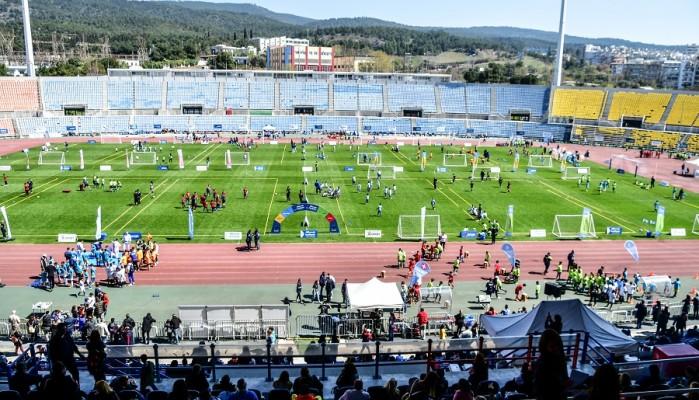 Το φεστιβάλ Αθλητικών Ακαδημιών ΟΠΑΠ στη Θεσσαλονίκη με συμμετοχή 3.000 ατόμων