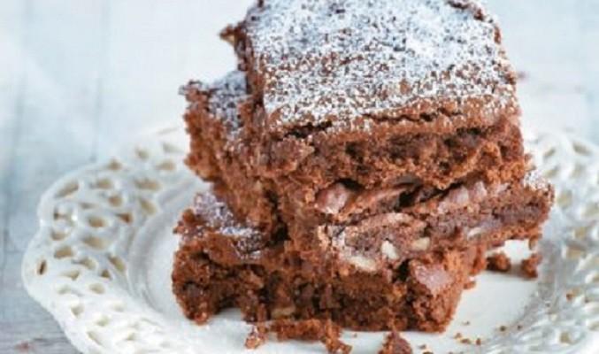 Νηστίσιμα brownies με ταχίνι