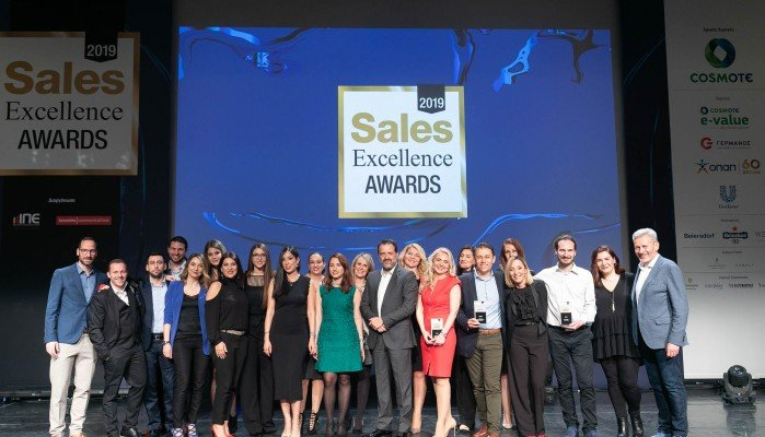 COSMOTE e-Value: Τέσσερα βραβεία στα Sales Excellence Awards 2019