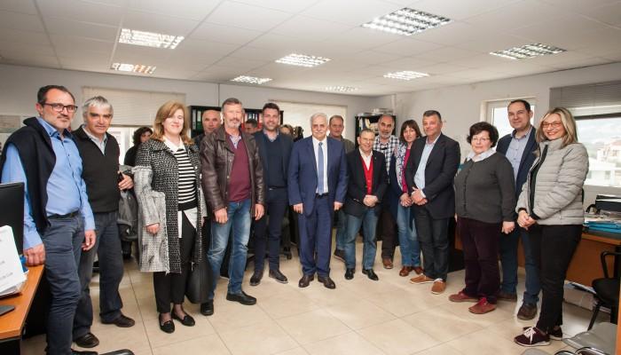 Ευτύχης Δαμιανάκης: Αναγκαία η συστέγαση 4 κρίσιμων Υπηρεσιών του Δήμου Χανίων