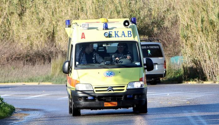 Βαριά τραυματισμένος Γάλλος τουρίστας μετά από τροχαίο στην Χερσόνησο